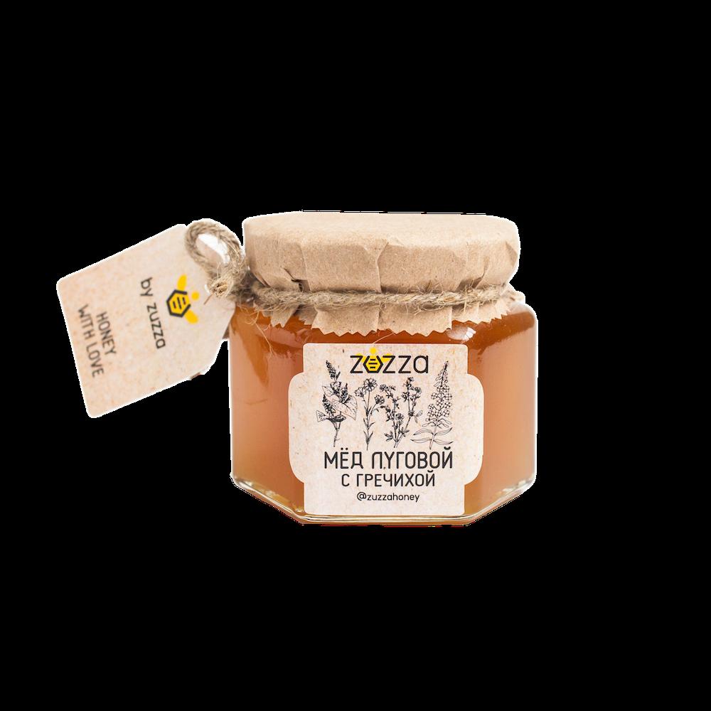 Мёд луговой с гречихой