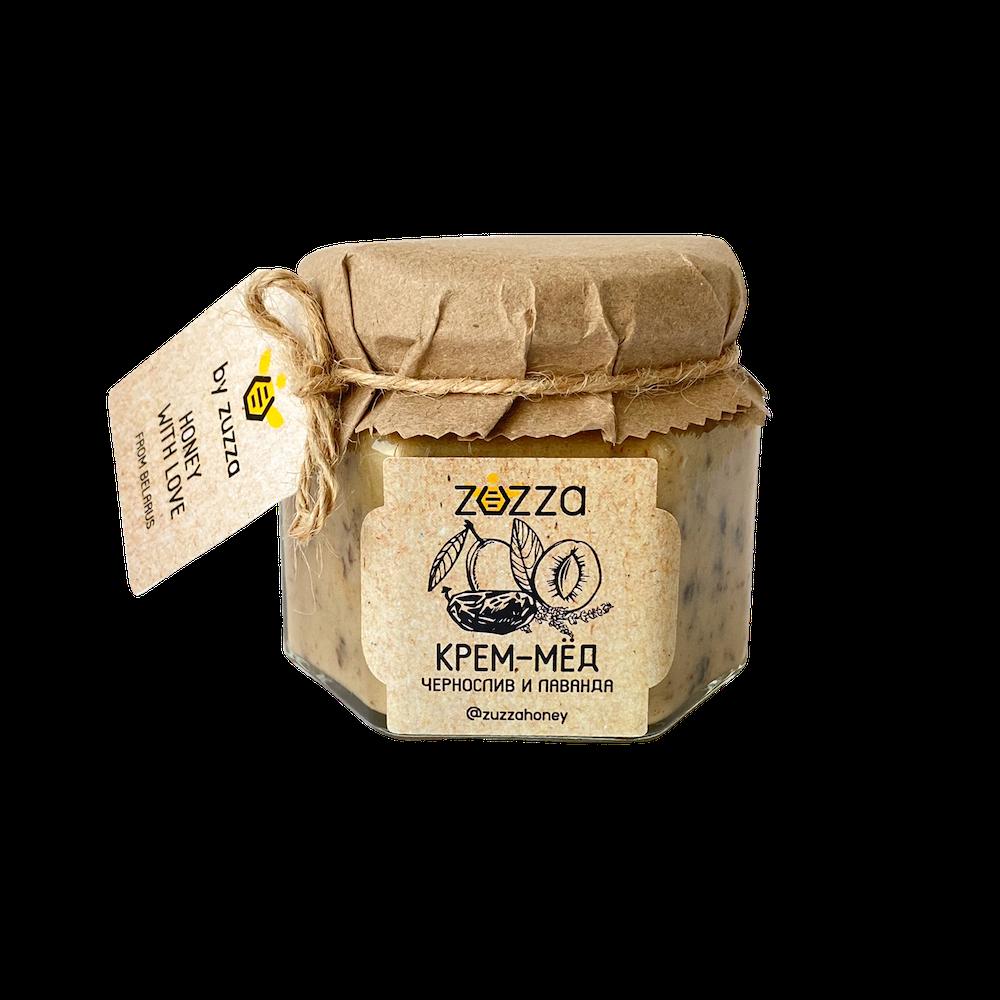 Крем-мёд чернослив и лаванда