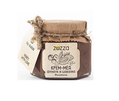 Крем-мёд фундук и шоколад