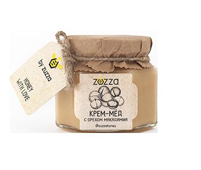 Крем-мёд орех макадамия