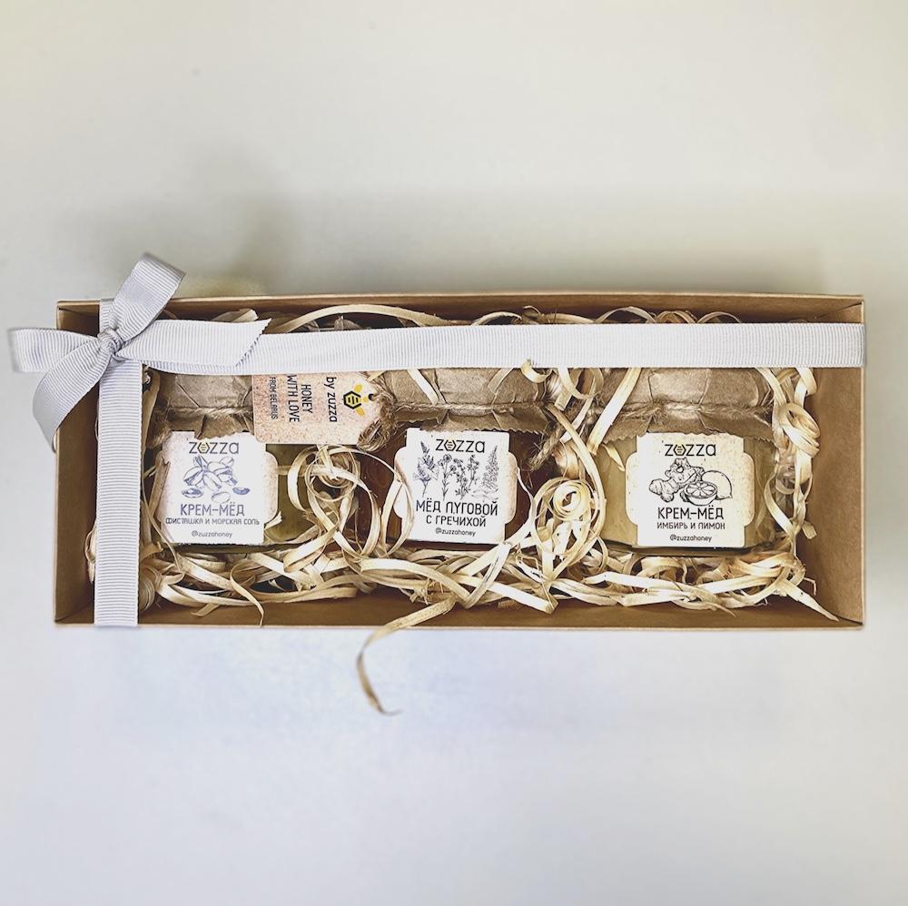 """Подарочный набор """"Три мёда мини"""""""
